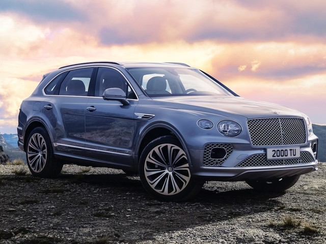2021 Bentley Bentayga gets a nice facelift and updated tech