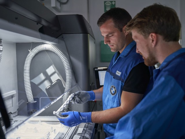BMW Used 1 Million 3D Printed Parts for Its Cars over the Last Decade