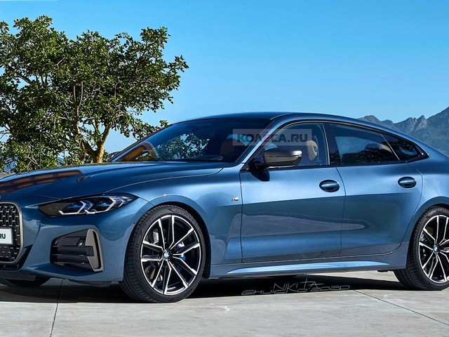 BMW 4 Series Gran Coupe rendered accurately, debut to follow