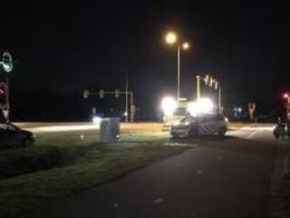 Scooterrijder gewond bij botsing met auto in Almelo