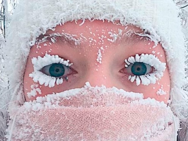 In het koudste dorp ter wereld is het zó koud dat de thermometer kapot vriest