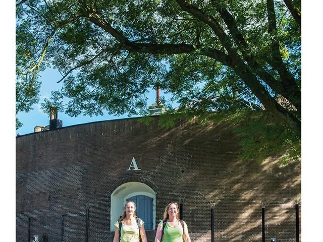 Waterliniepad: 350 km wandelen langs forten
