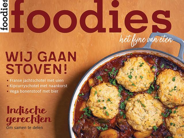 Yes! Bestel Foodies november nu zonder verzendkosten