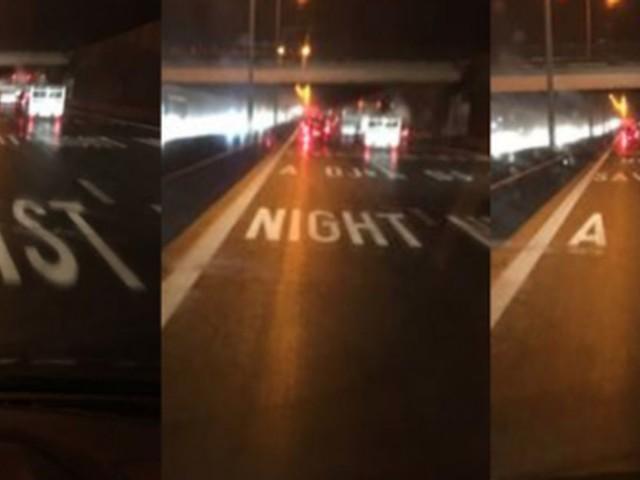 Discodeuntje 'DJ saved my life' op de snelweg