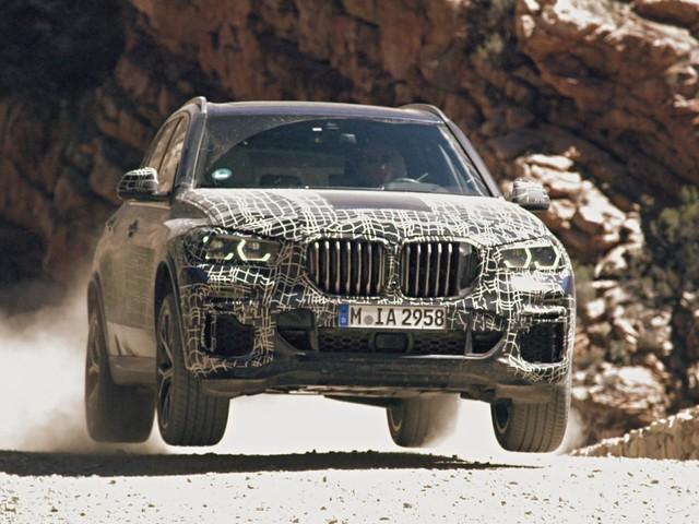 2019 BMW X5 teased