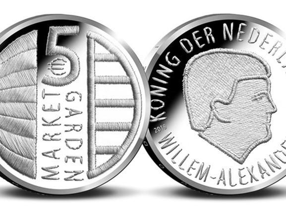 Tilburgse kunstenaar ontwerpt herdenkingsmunt Tweede Wereldoorlog