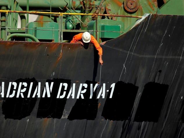 Waar kan de Iraanse olietanker nog heen?