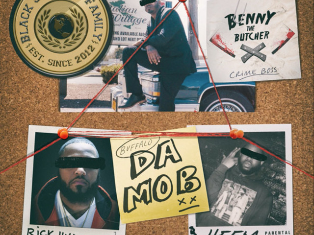 "Benny the Butcher, Rick Hyde & Heem Are ""Da Mob"" On New Single"