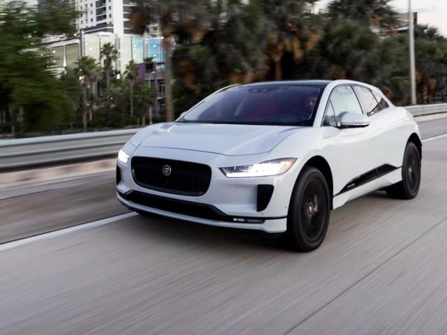 Jaguar I-Pace gets an update for more driving range