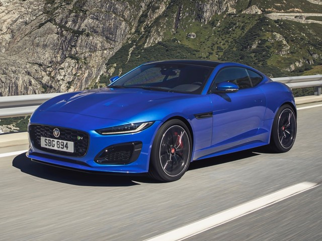 2021 Jaguar F-Type debuts with a sleeker face