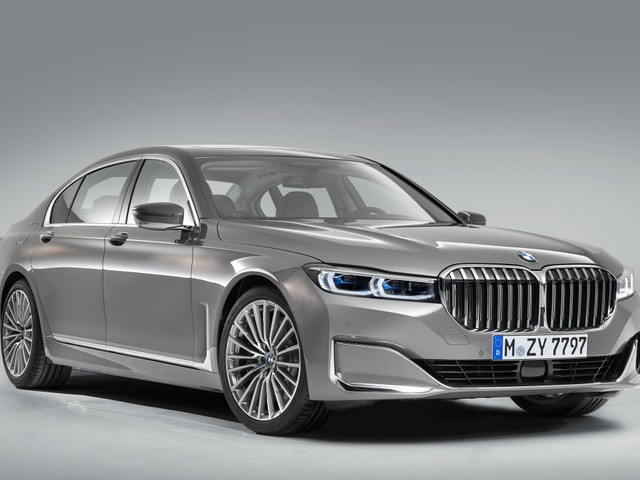 LEAKED: First Official Images BMW 7 Series Facelift