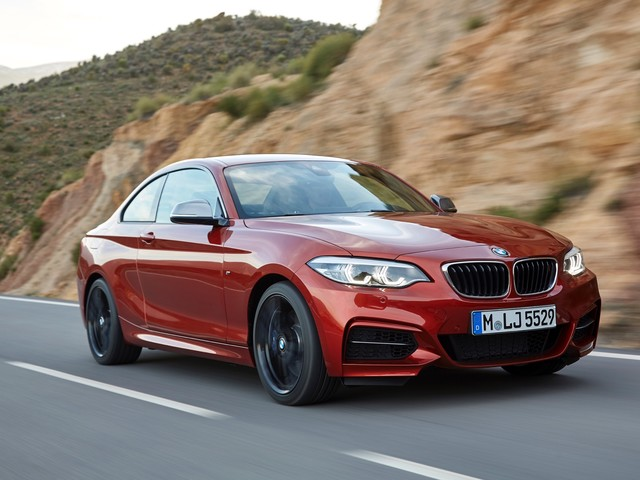SPIED: BMW 2 Series Coupe Seen in Heavy Camouflage