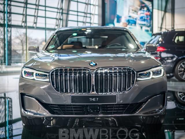 BMW 7 Series LCI on display at BMW Welt's Progressive Luxury Stand