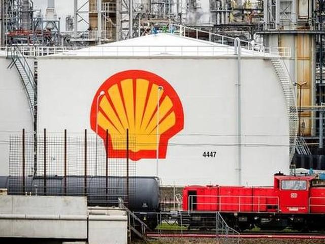 Brand in raffinaderij Shell Rotterdam