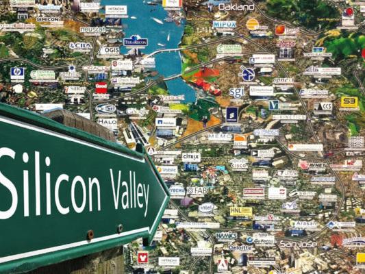 De macht van Silicon Valley