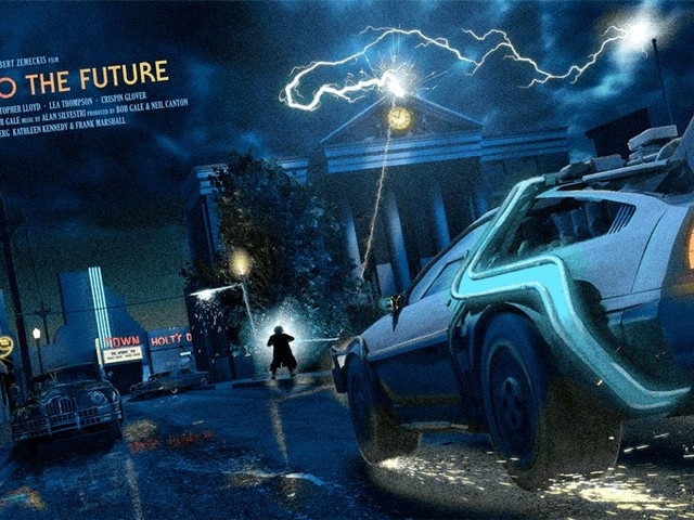 A Look Back At Back To The Future By Douglas Meacham