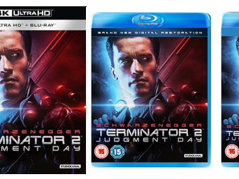 The Bearded Trio Christmas Gift Idea #5 - TERMINATOR 2: JUDGMENT DAY ON UHD, BLU-RAY, 3D BLU-RAY, DVD & DIGITAL DOWNLOAD