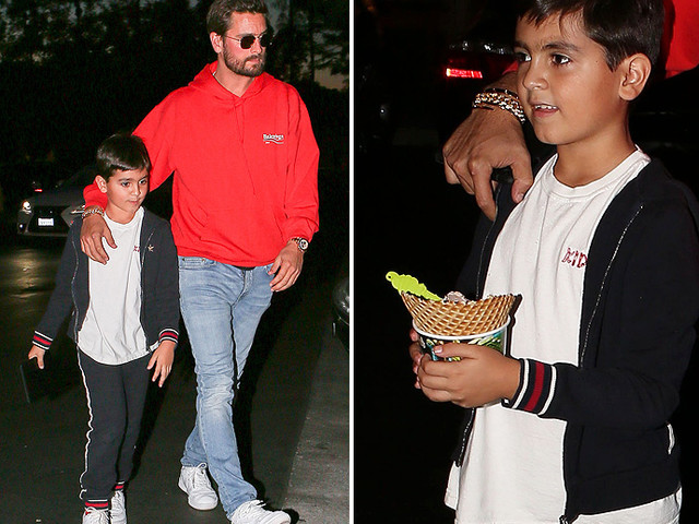 Scott Disick Reappears To Play Daddy For A Day
