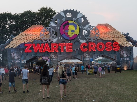 Zwarte Cross strikt The Black Eyed Peas