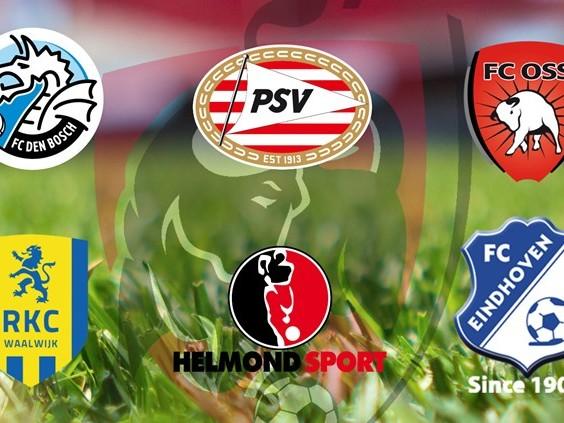 Volg hier LIVE de wedstrijden van de Brabantse clubs in de Jupiler League
