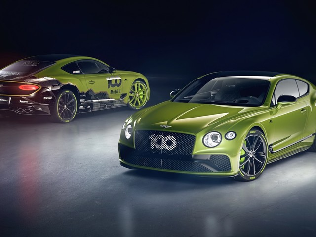 Limited edition Bentley Continental GT celebrates the Pikes Peak record