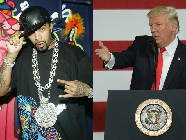 Leprechaun Lame: Lil' Flip Ties His Cape Tight To Defend Donald Trump's Visit To Flooded Texas [Video]
