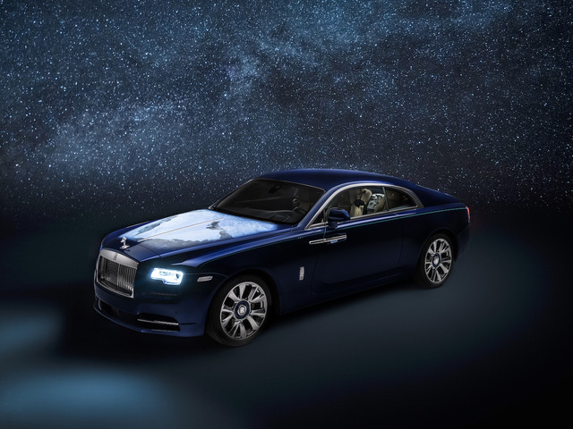 Rolls-Royce Wraith 'Inspired by Earth' bespoke model unveiled
