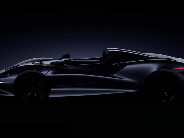 McLaren Roadster teased ahead of its 2020 arrival