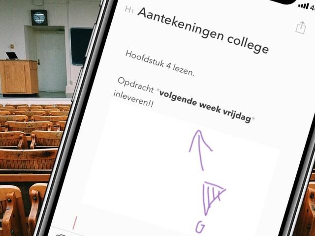 Dit is de beste notitie-app voor iOS en macOS