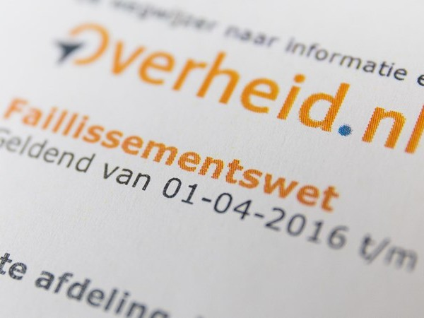 CBS: minder faillissementen in Overijssel in 2017