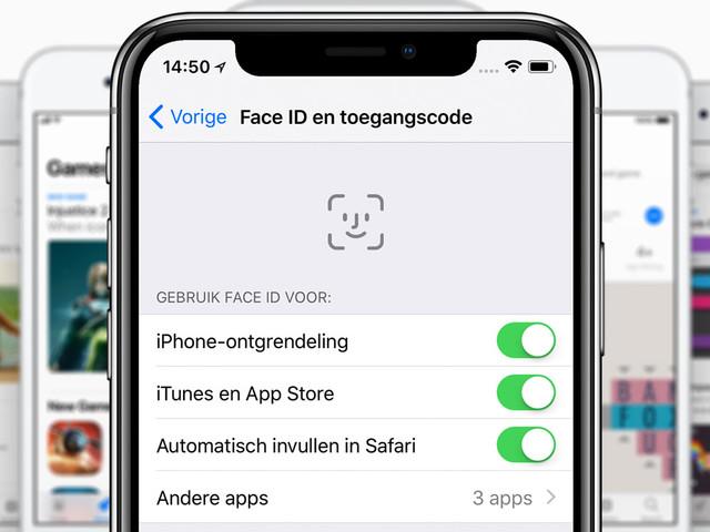 In 3 stappen apps kopen in de App Store met Face ID