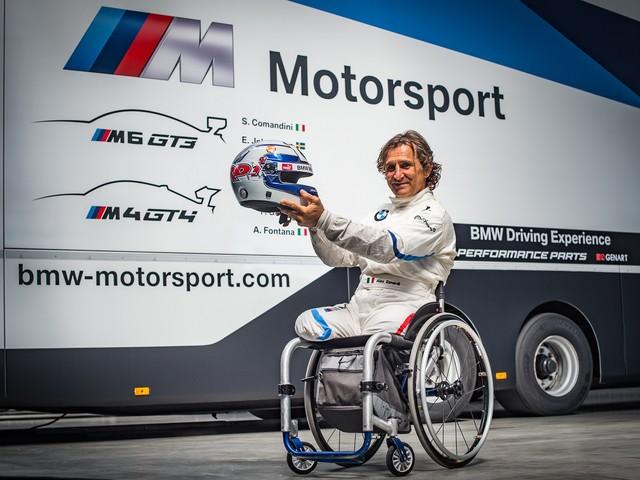 Alex Zanardi to Compete in the Italian GT Championship with M6 GT3