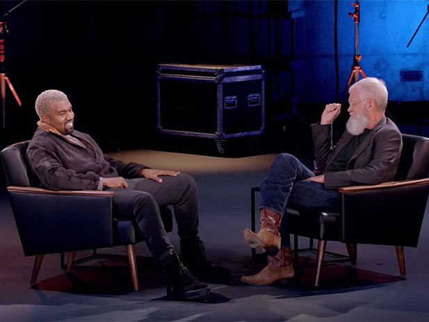 Kanye West on 'My Next Guest Needs No Introduction' with David Letterman