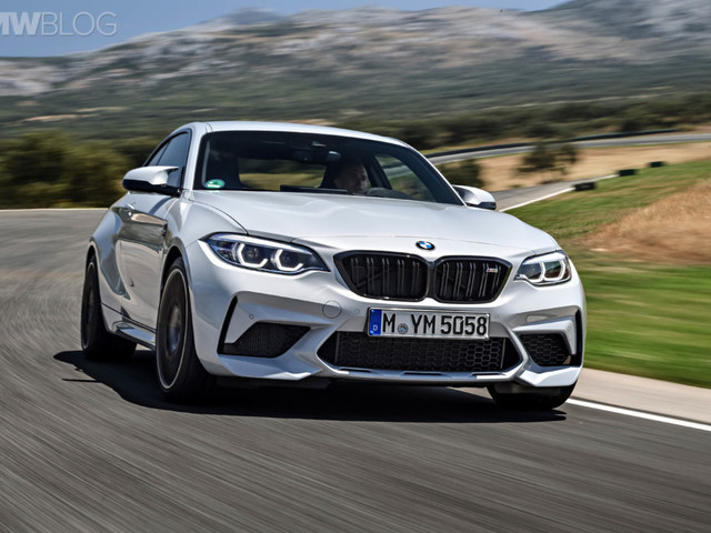 Is the BMW M2 Competition is actually quicker with a manual?