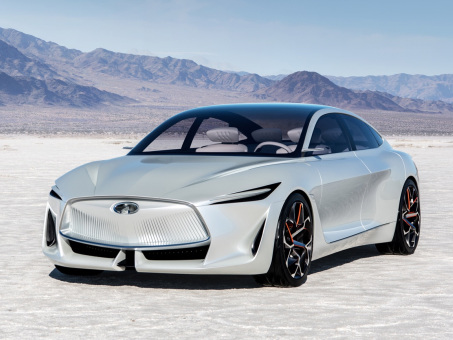 Infiniti Q Inspiration concept designed with autonomy, VC-Turbo variable compression ratio engine in mind