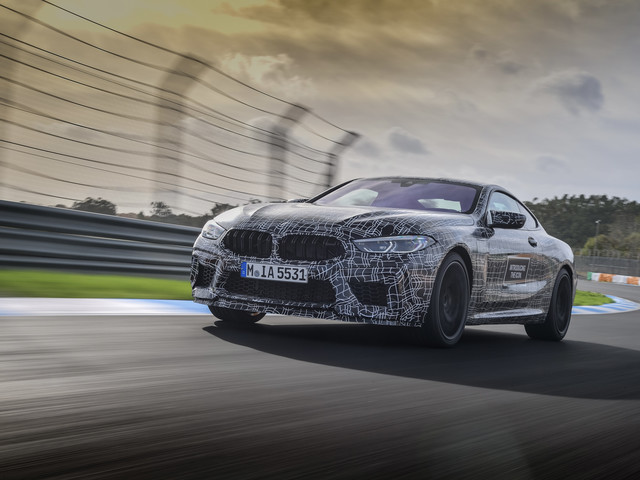 Video: Go for a Hot Lap Around Estoril with the BMW M8