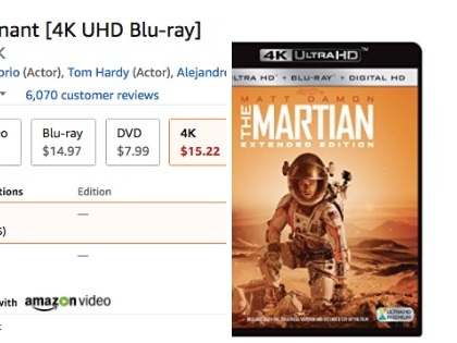 Amazon Slashes Prices Of 4K Content After Launch Of Apple TV 4K