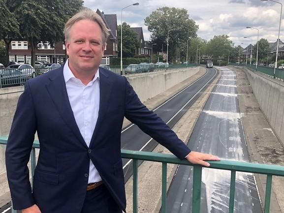Feest vanwege verbreding zuidelijke rondweg in Breda, maar omwonenden hebben er geen zin in
