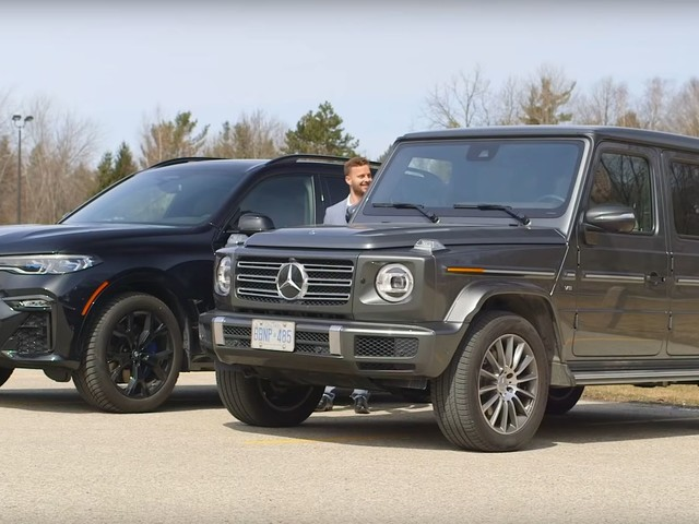 Video: BMW X7 Gets Reviewed Against 2019 Mercedes-Benz G-Wagon