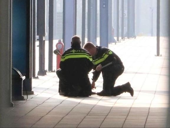 'Verdacht pakketje is met opzet bij station Enschede achtergelaten'