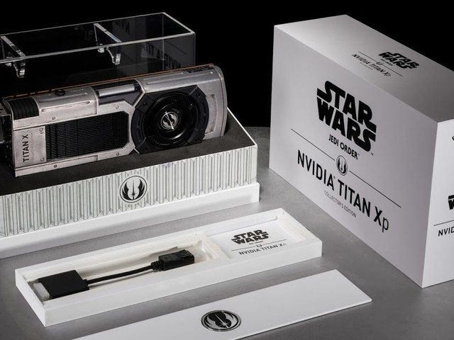 The Bearded Trio Christmas Gift Idea #2 - Star Wars Fans: NVIDIA Has a GPU for Your Light and Dark Side