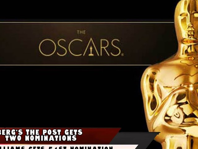 Oscar Nominations. Full List Here. The Post Gets Two. John Williams Gets 51st Nomination