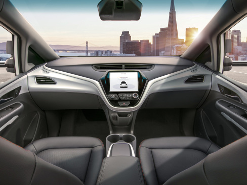 GM files petition asking DOT permission to deploy self-driving Cruise AV in 2019; no steering wheel or pedals