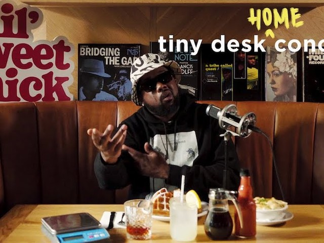 Watch Conway The Machine's NPR Tiny Desk (At Home) Concert