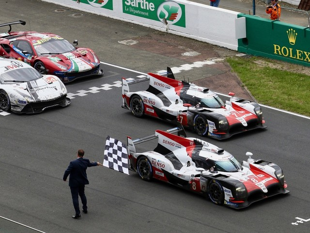 Toyota wins the 24 Hours of Le Mans