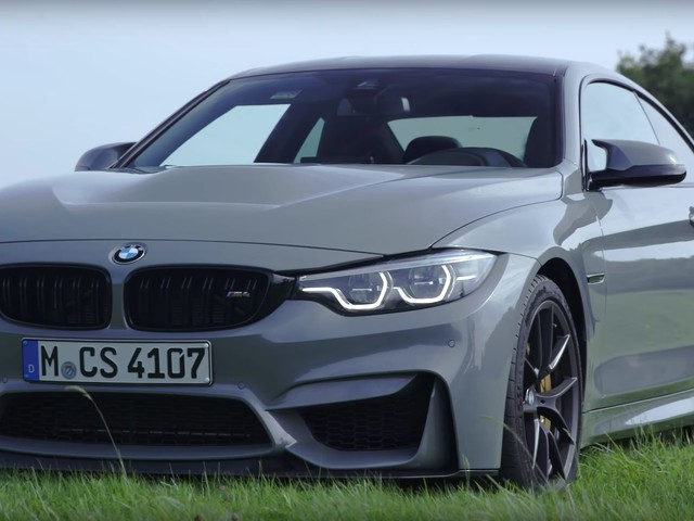 Video: MotorTrend Pits BMW M4 CS Against Porsche 911 GTS