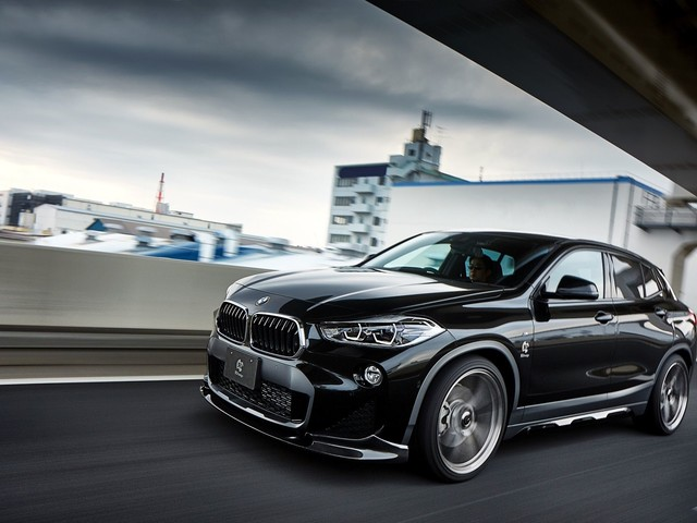 3D Design releases their tuning program for the BMW X2 Crossover