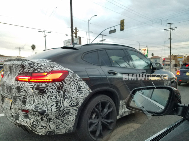 SPIED: BMW X6 M and M8 Convertible caught at the 'Ring yet again