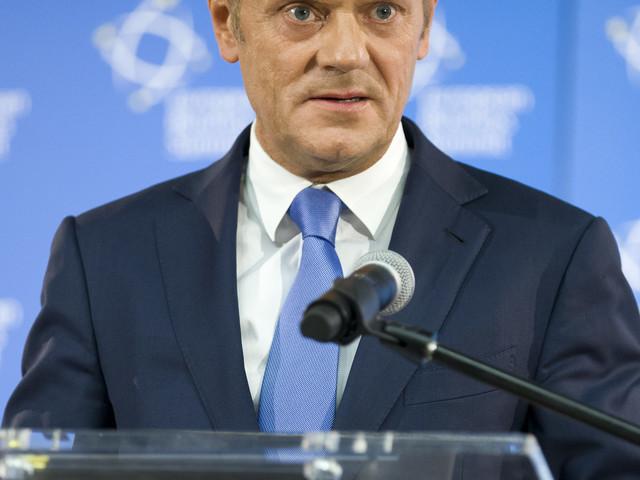 Tusk pleit voor eenheid bij migratievraagstuk