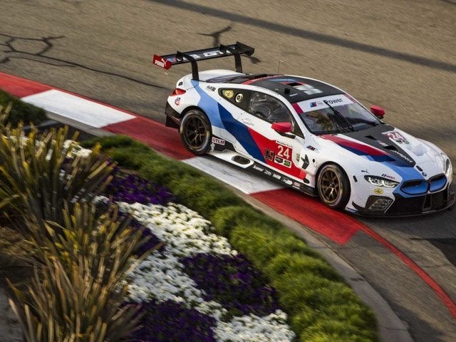 BMW Team RLL Qualifies 7th and 8th for the Grand Prix at Long Beach